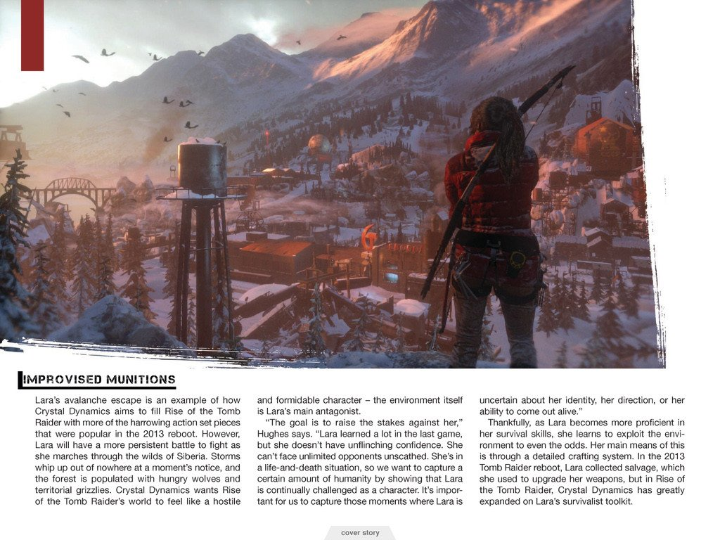 Свежие подробности Rise of the Tomb Raider. Обновлено.. - Изображение 11