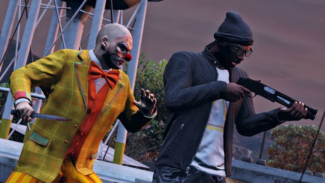 Кровожадные клоуны-зомби в GTA Online. - Изображение 1