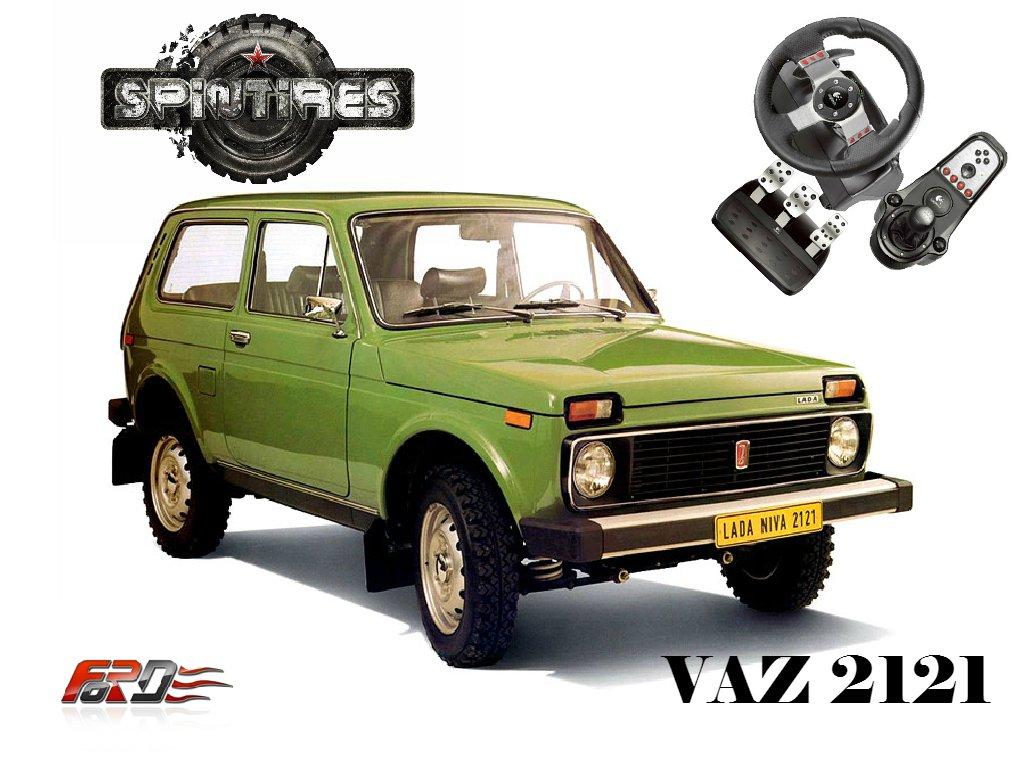 [ SpinTires 2015 ] ВАЗ 2121 НИВА (VAZ 2121 NIVA) тест-драйв, обзор русских автомобилей, машин . - Изображение 1