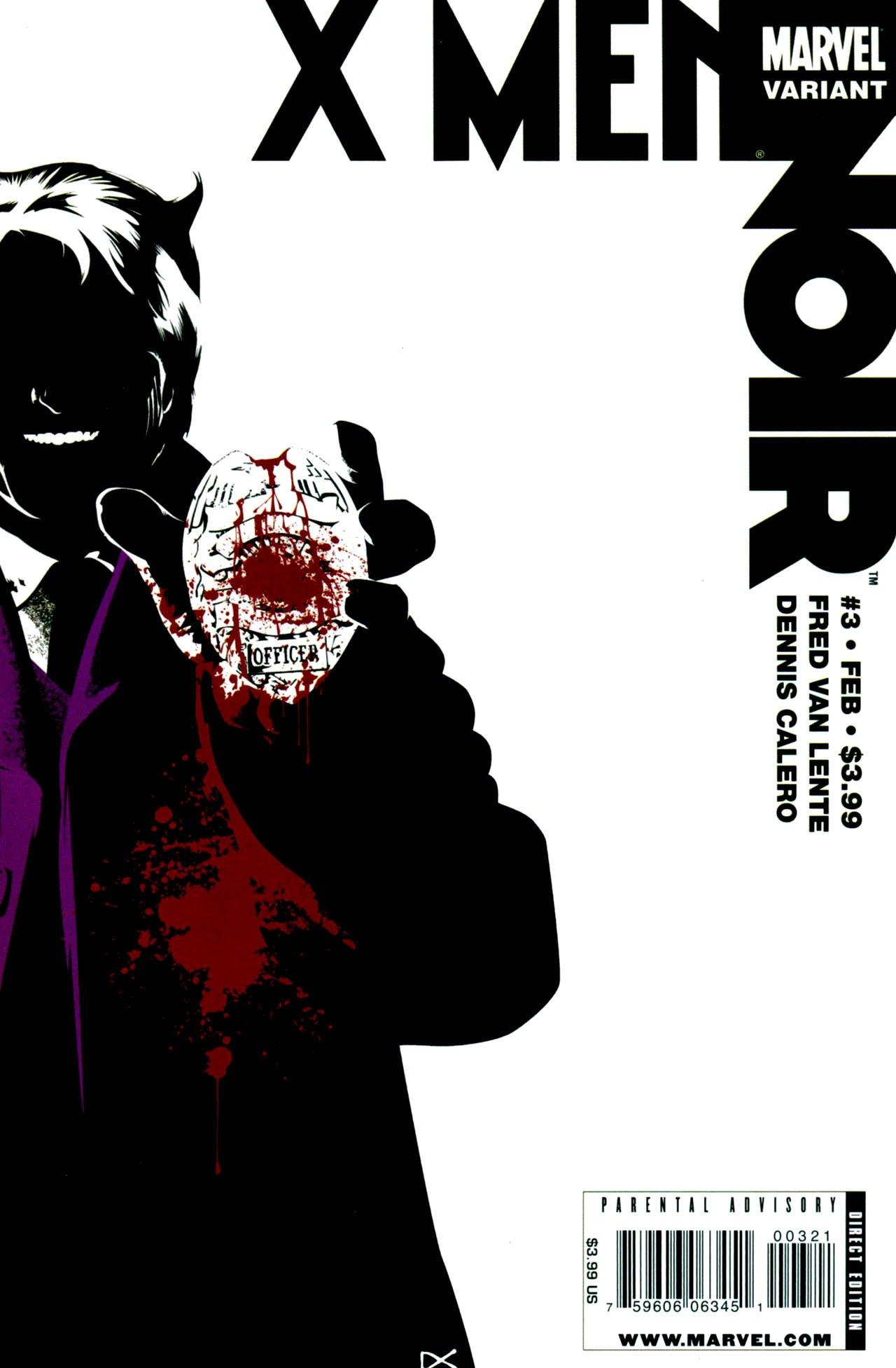 """Топ 16 злодеев серии комиксов """"Marvel Noir"""". Часть 2. [Spoiler alert]. - Изображение 1"""