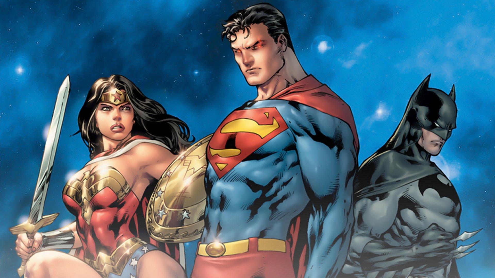 Новые костюмы Бэтмена, Супермена и Чудо-Женщины в комиксах. - Изображение 1