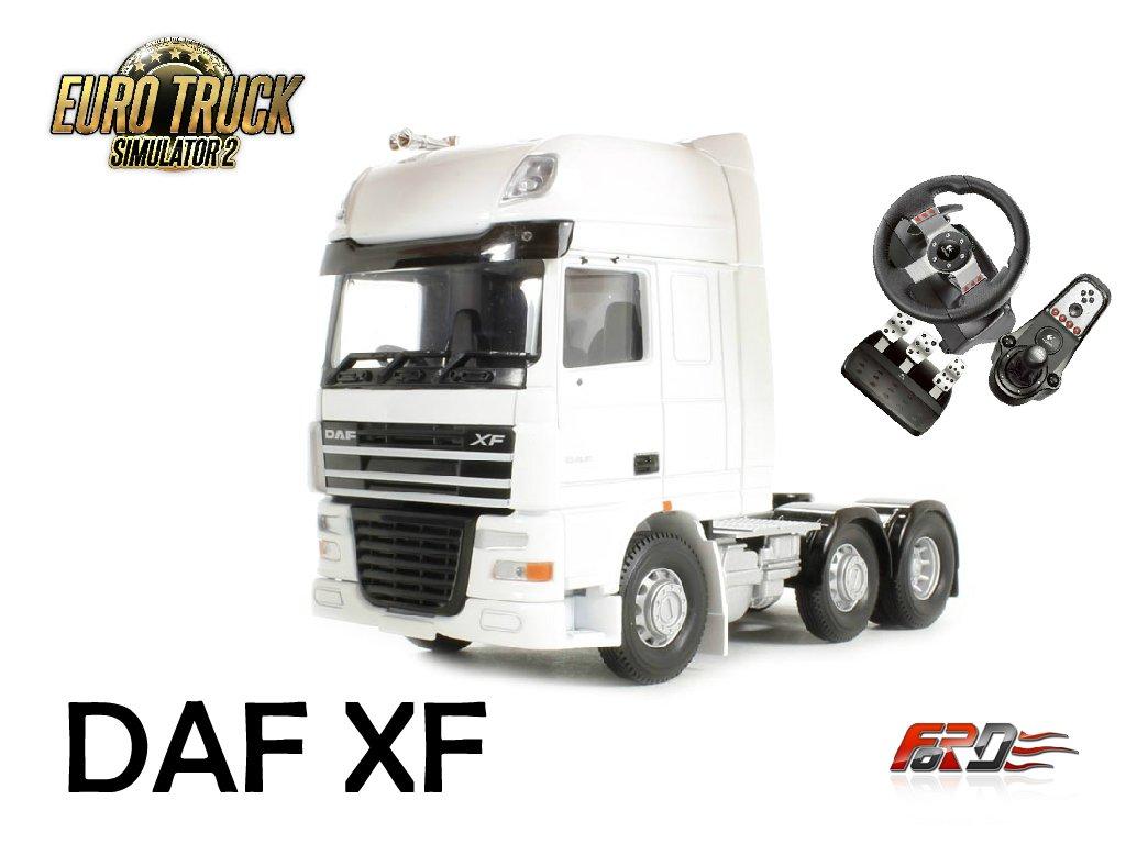 """[ Euro Truck Simulator 2 Logitech G27 ] обзор, тест-драйв грузовика DAF XF - """"ГРУЗОВИК ГОДА""""! . - Изображение 1"""