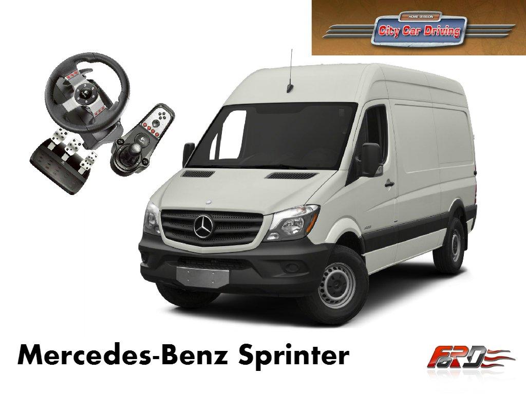 [ City Car Driving ] Mercedes-Benz Sprinter и Ford Transit тест-драйв, обзор автомобилей, фургонов . - Изображение 1