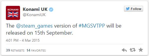 MGSV - версия игры для PC задержится на две недели. А также представлена шикарная PS4 в стиле MGSV !. - Изображение 1