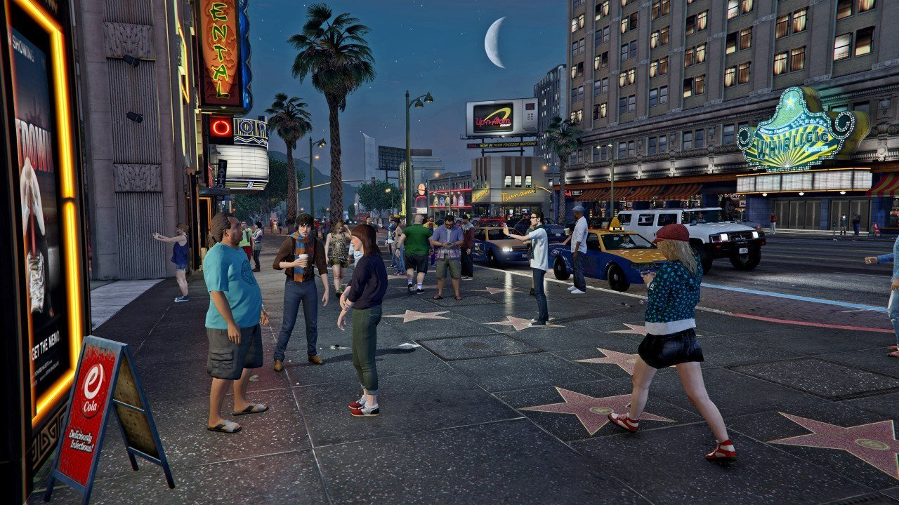 Grand Theft Auto V на PC будет доступна в ночь с 13 на 14 в 2:00.. - Изображение 1
