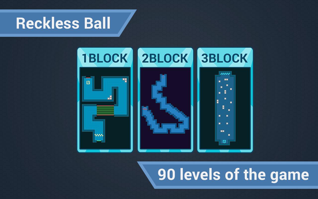 Reckless Ball android arcade . - Изображение 1