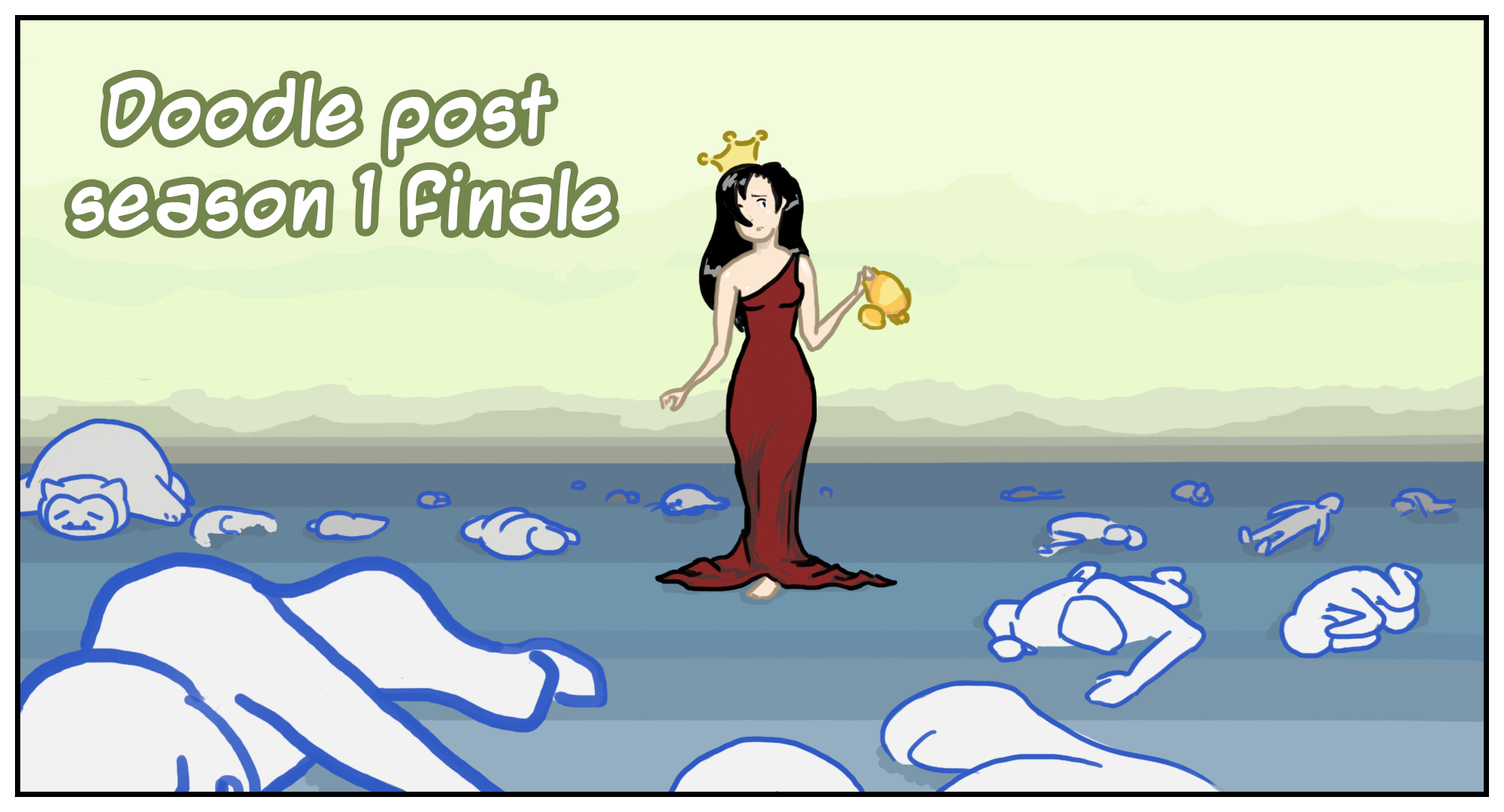 Doodle post season finale +диаграмма. - Изображение 1