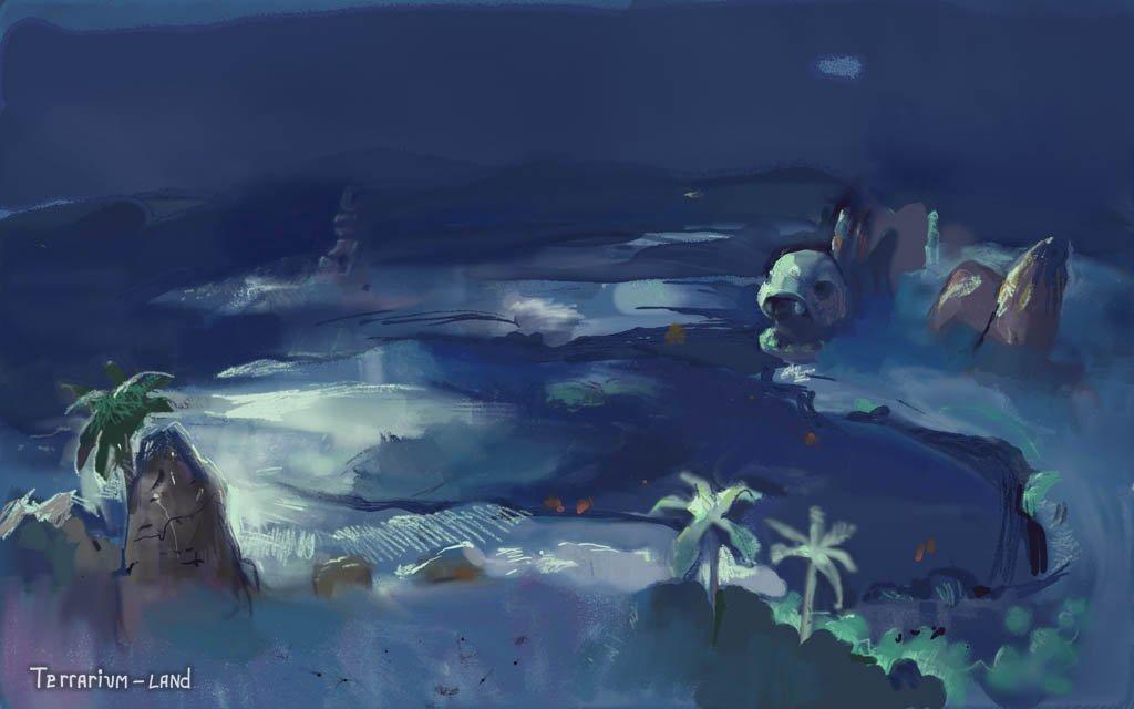 """Наброски уровней к игре """"Terrarium-land"""".. - Изображение 2"""