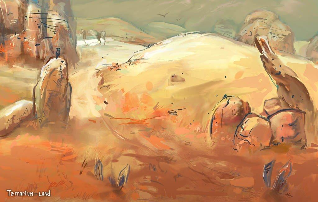 """Наброски уровней к игре """"Terrarium-land"""".. - Изображение 3"""