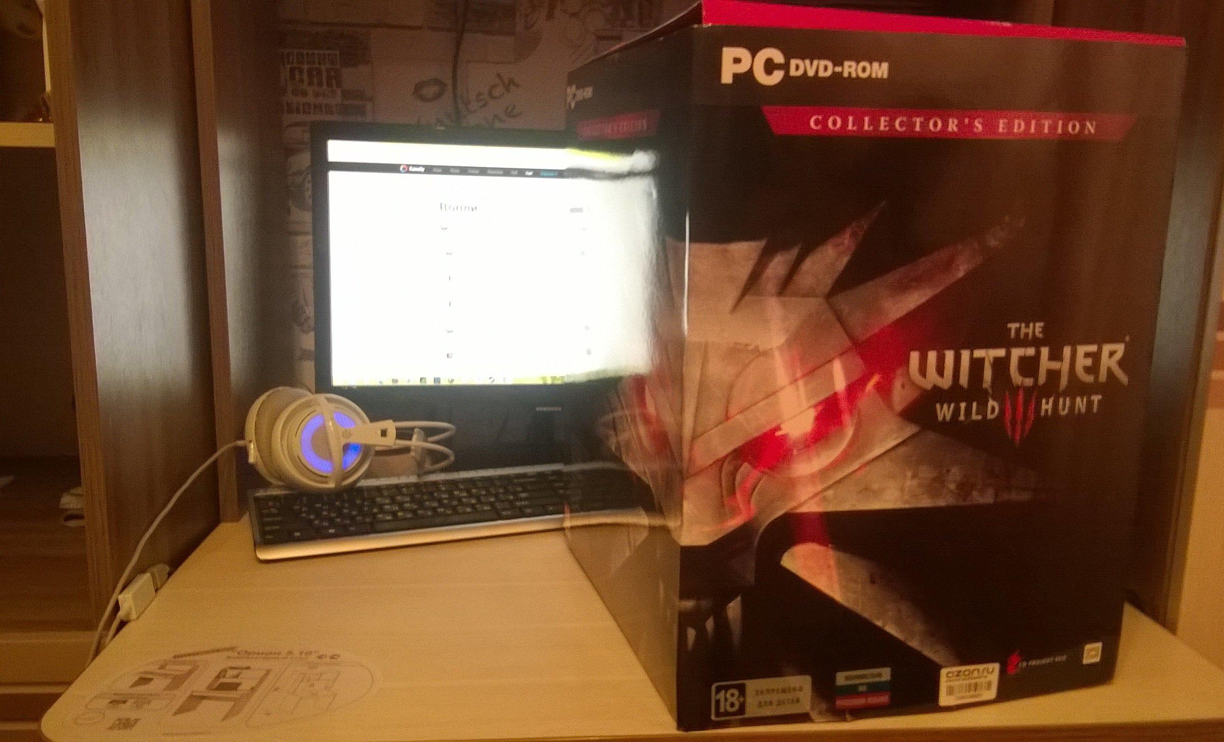 The Witcher 3: Wild Hunt. Распаковка коллекционного издания игры!     После долгого и томительного ожидания, сквозь  .... - Изображение 2