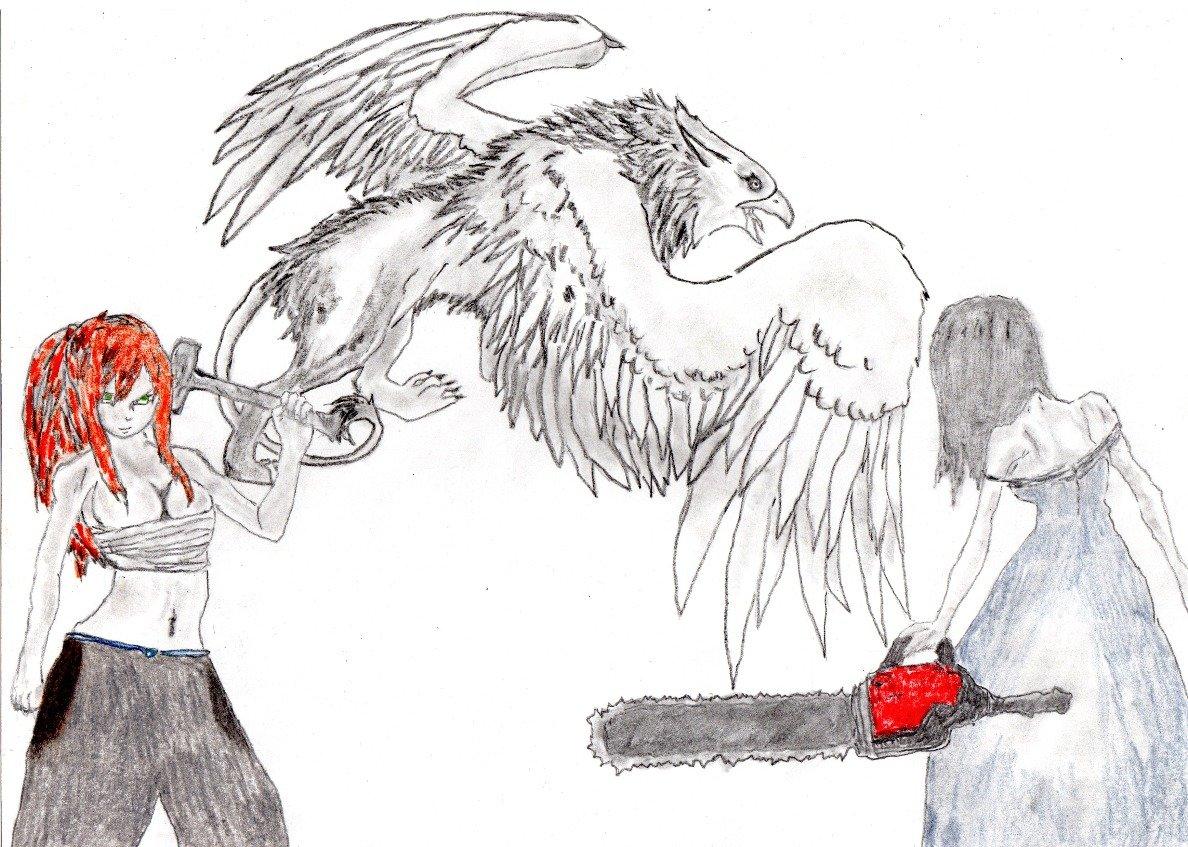 Cказка-фантасмагория об одном обычном крестьянине,одолевшего крылатую тварь. - Изображение 2