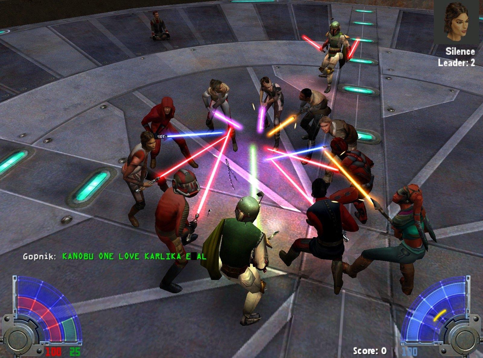 Мультиплеер Star Wars Jedi Knight: Jedi Academy - день 1. - Изображение 3