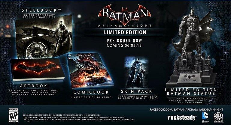 Анбоксинг Batman Arkham Knight limited edition (PS4). - Изображение 1