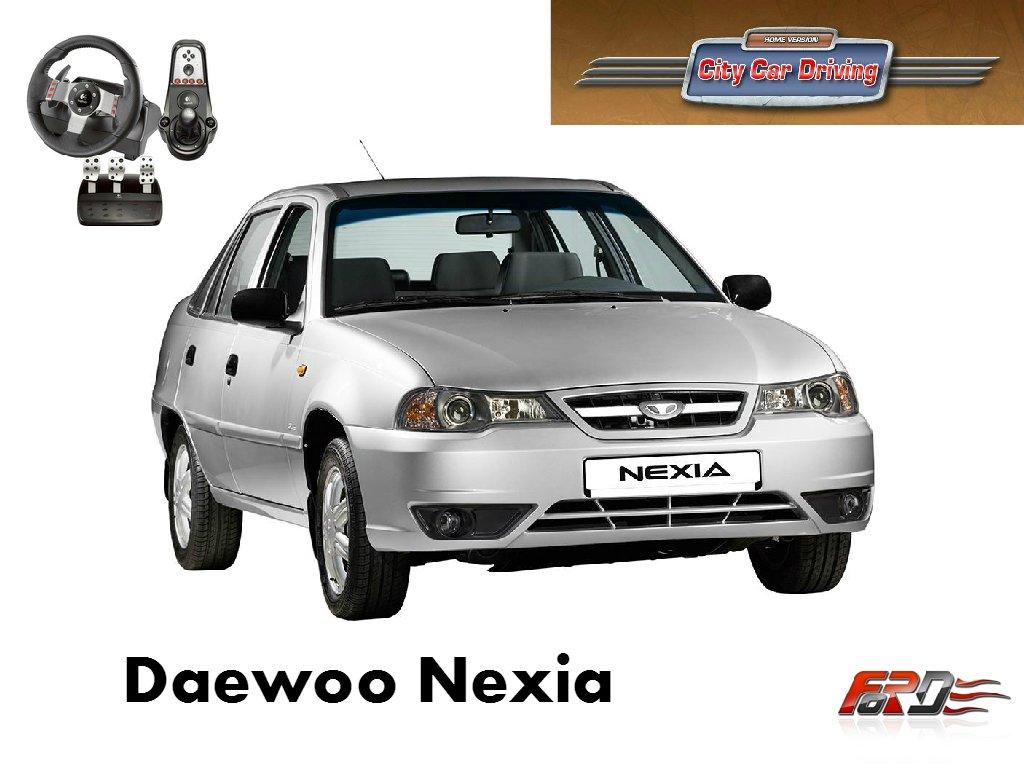 [ City Car Driving ] Daewoo Nexia тест-драйв, обзор, дешевый корейский автомобиль . - Изображение 1