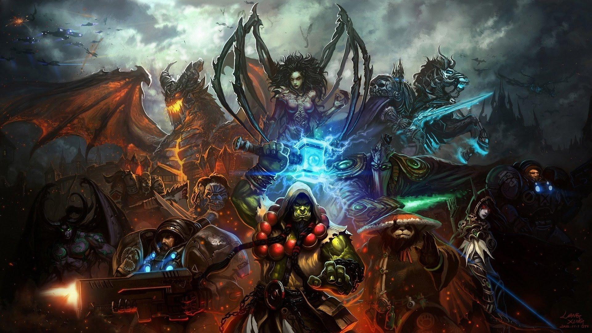 Оптимальный набор героев для новичка в Лиге Героев Heroes of the Storm. - Изображение 1