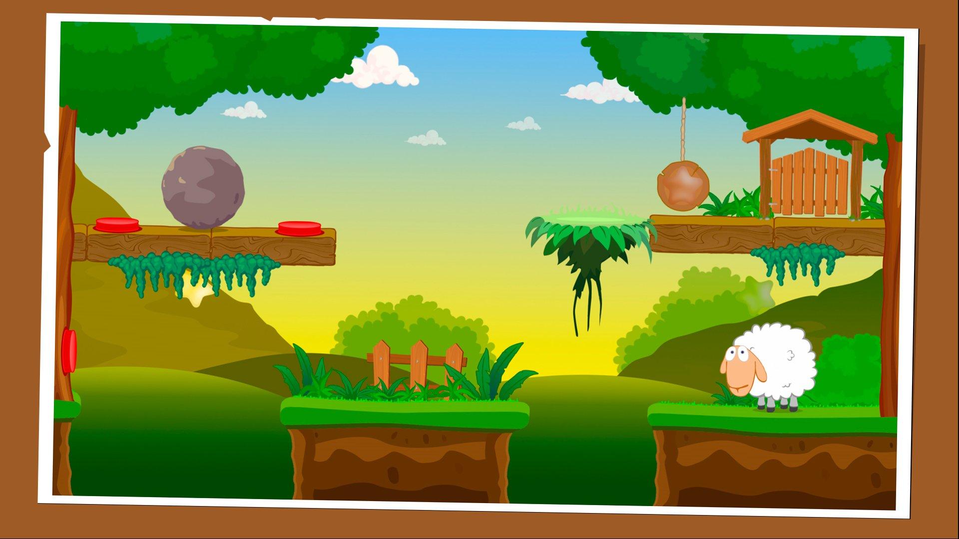 Sheep Escape - пазл-платформер с забавным персонажем. - Изображение 3