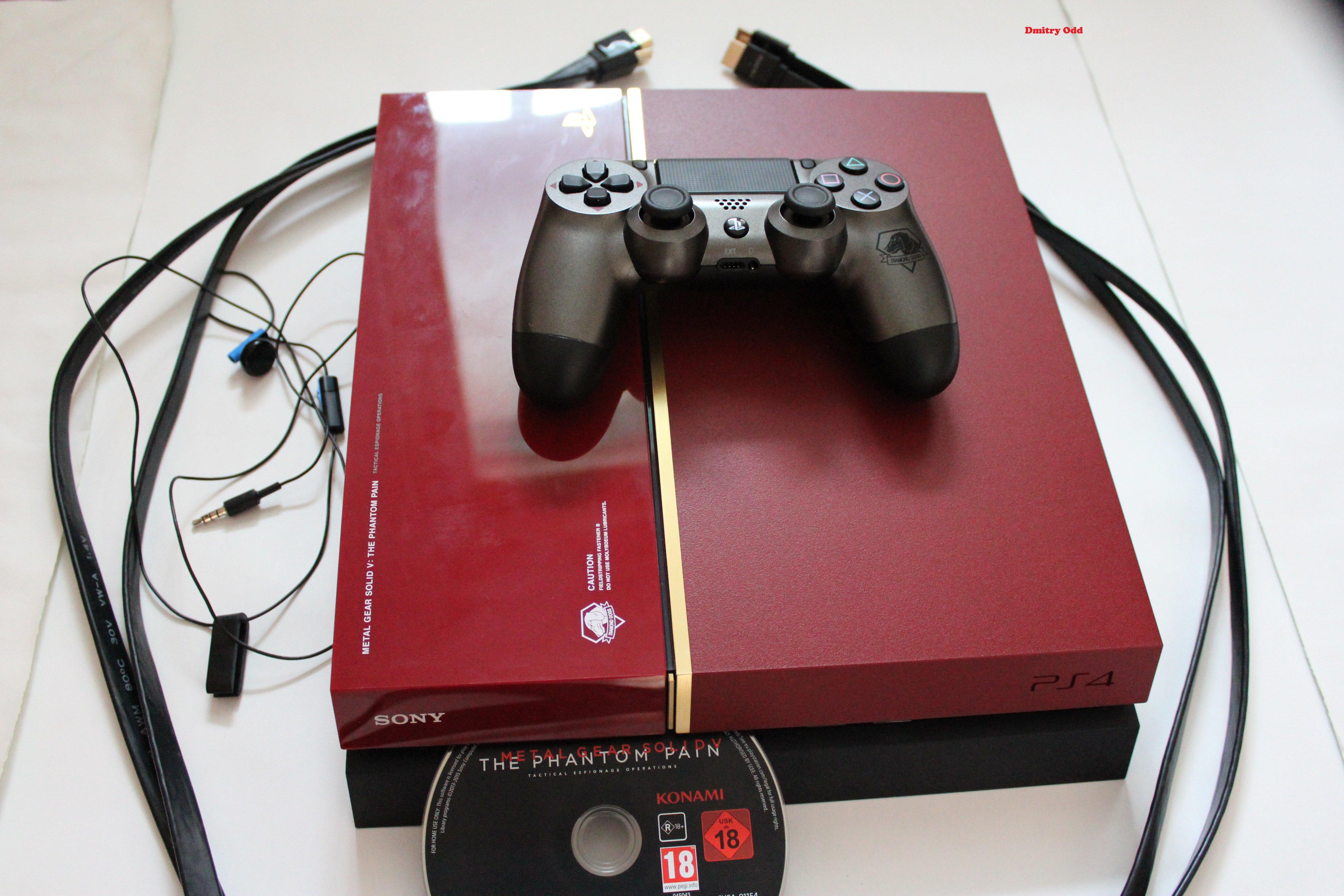 Пришла красавица! эксклюзивная PlayStation 4 - Metal Gear Solid V: Phantom Pain. - Изображение 1