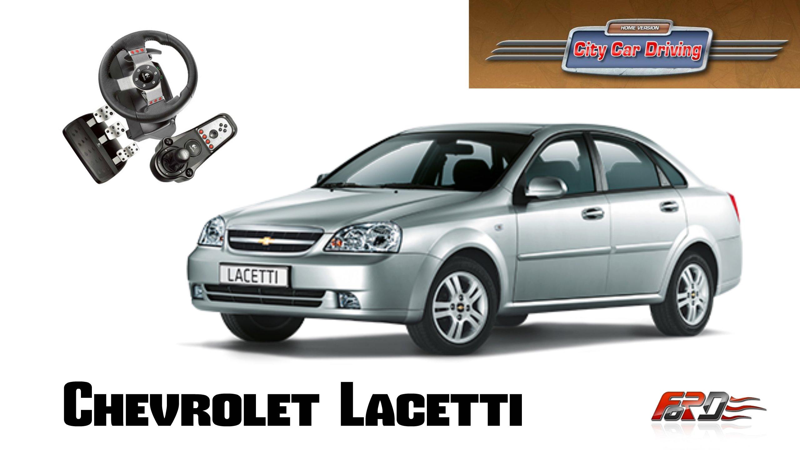 Chevrolet Lacetti тест-драйв, обзор, разгон и динамика зимой в City Car Driving . - Изображение 1