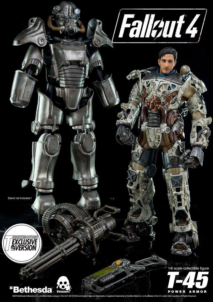 Коллекционная фигурка по Fallout 4 от ThreeZero. - Изображение 1