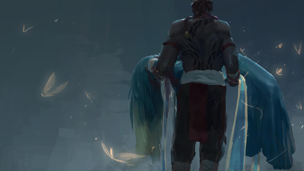 Арт к пререлизу нового героя в League of Legends.. - Изображение 5