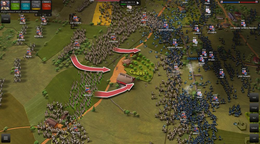 Обманчиво простой симулятор одного сражения - Ultimate General: Gettisburg. - Изображение 3