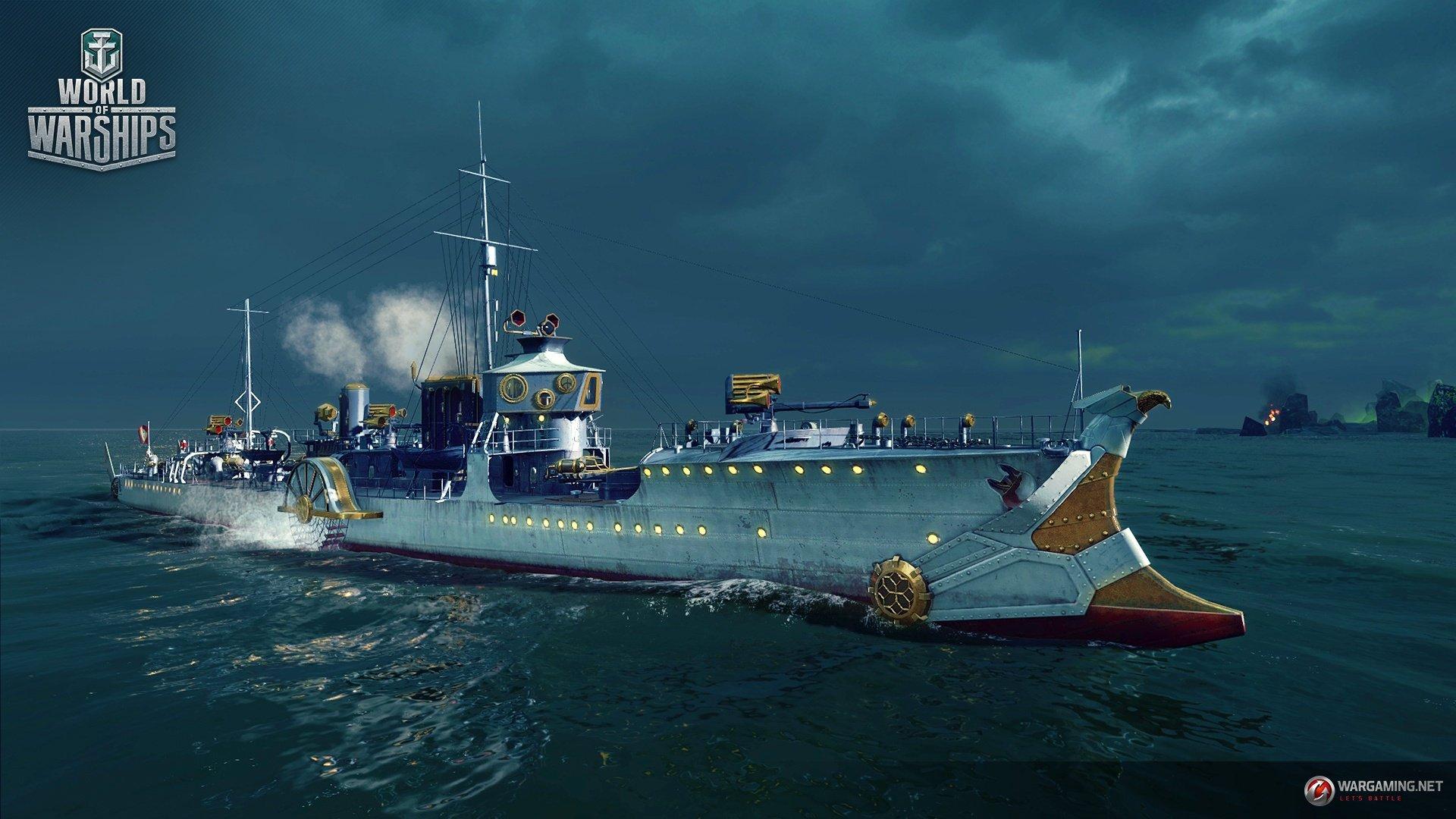 """World of Warships предлагает """"засветить"""" тёмным силам. - Изображение 2"""