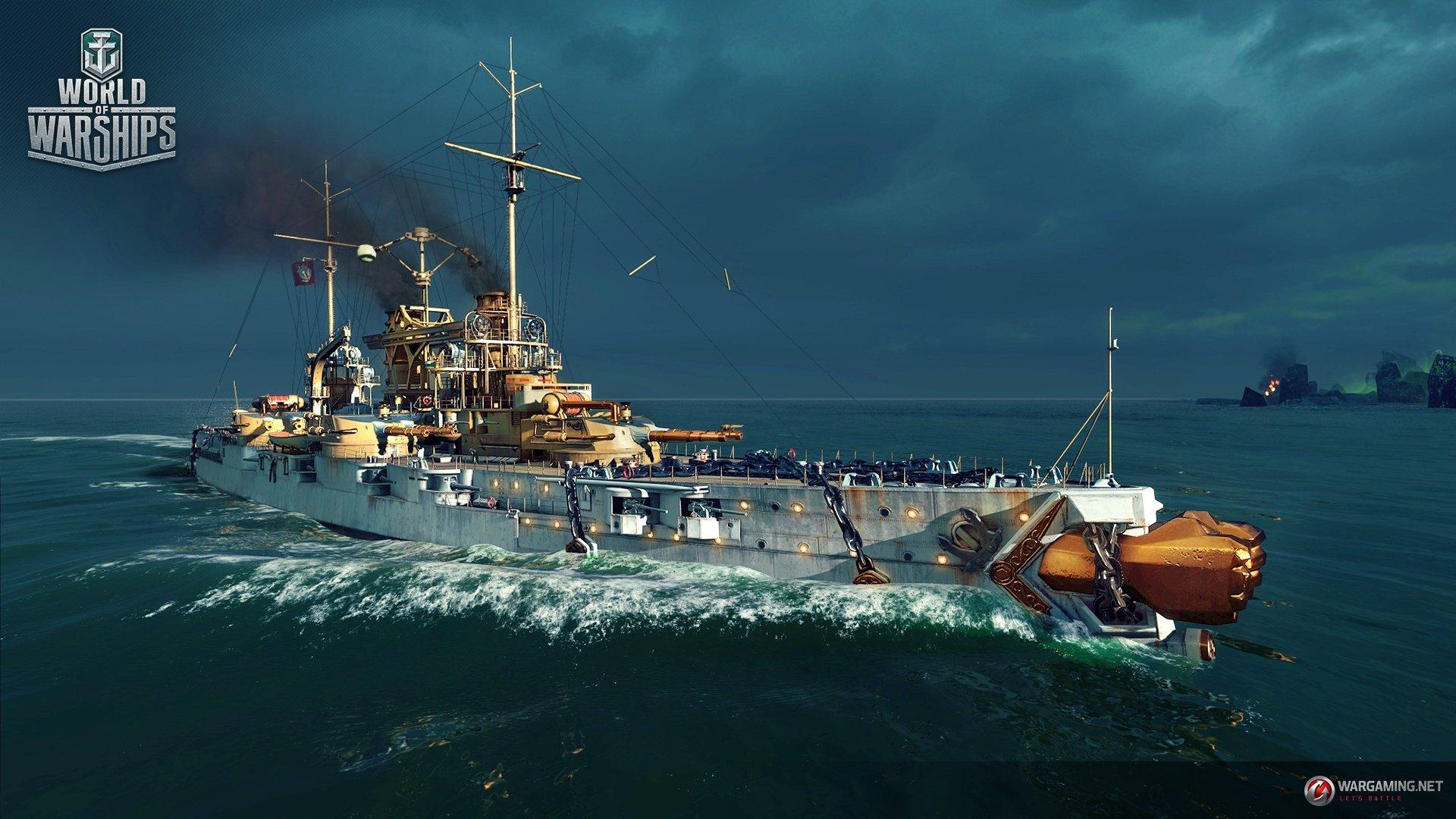 """World of Warships предлагает """"засветить"""" тёмным силам. - Изображение 3"""