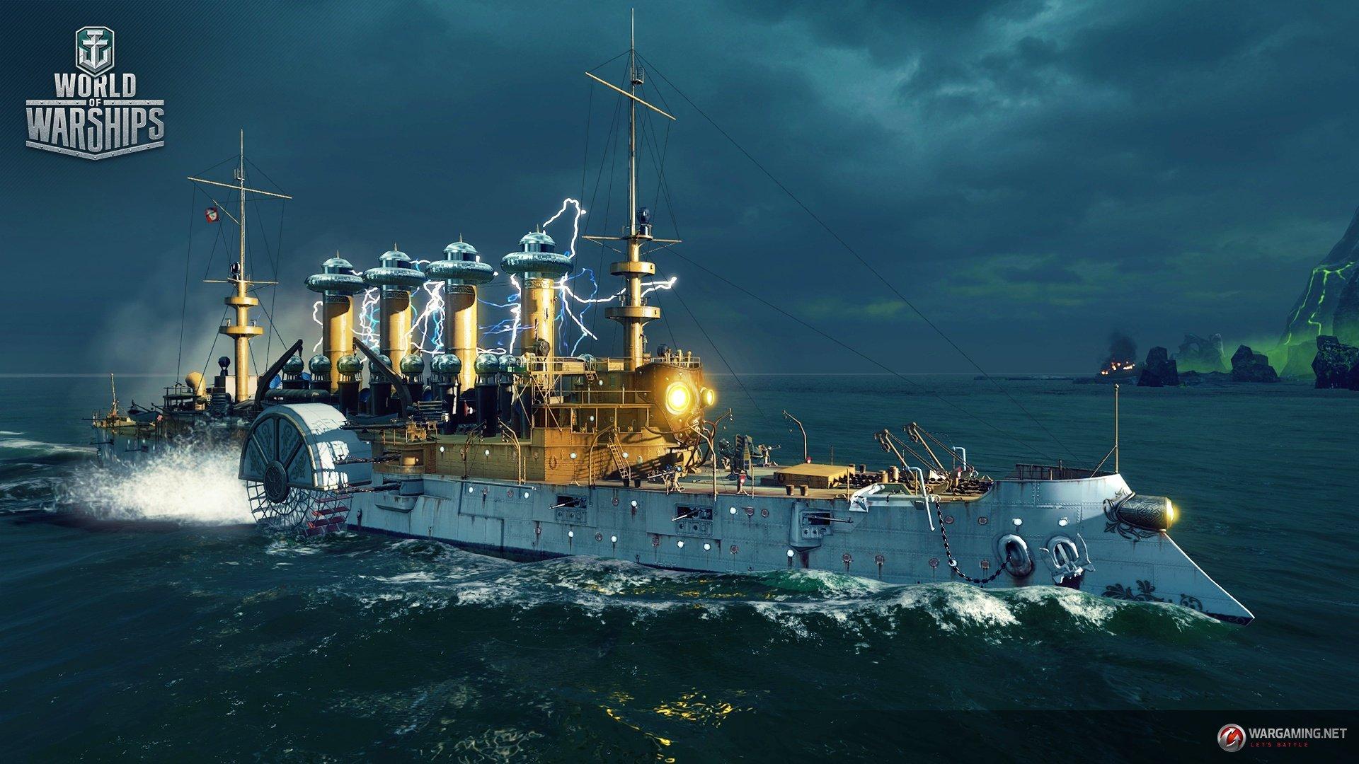 """World of Warships предлагает """"засветить"""" тёмным силам. - Изображение 4"""