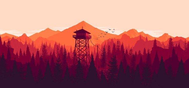 Firewatch- красочный лес, грустной зимой.. - Изображение 1