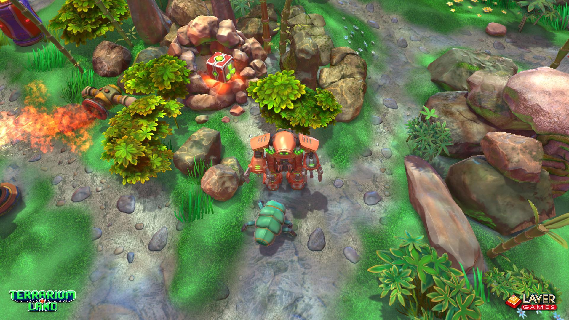"""3d игра """"Terrarium Land"""" весной выходит в Steam.. - Изображение 2"""