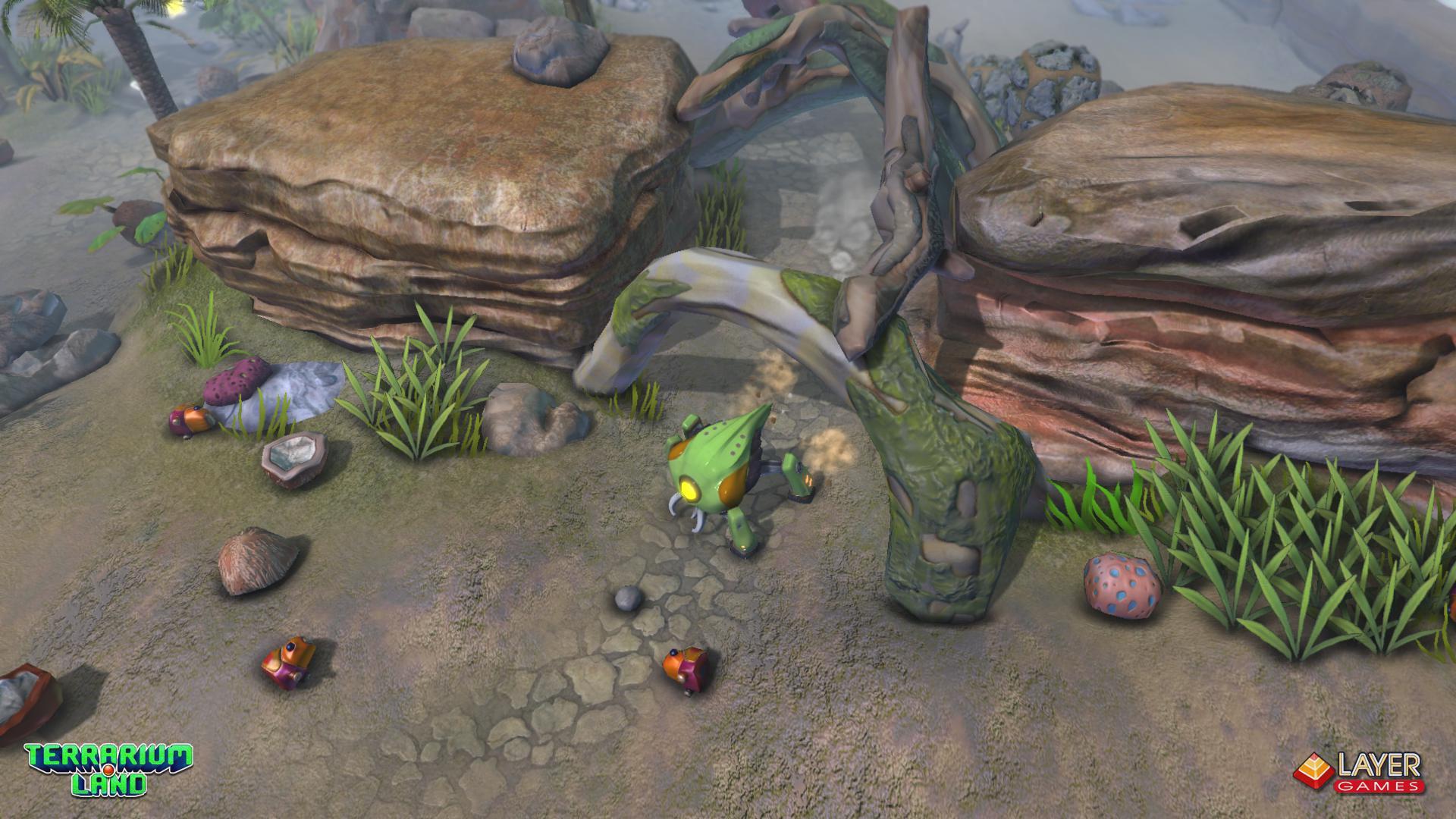 """3d игра """"Terrarium Land"""" весной выходит в Steam.. - Изображение 4"""