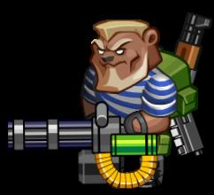 Игра про медведя-мутанта в тельняшке и с пулеметом.. - Изображение 1