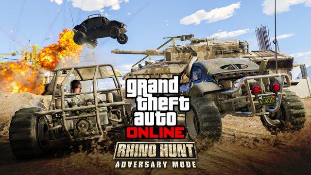 В GTA Online появилась охота на носорога. - Изображение 1