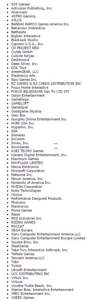 Список подтвержденных участников E32016. - Изображение 2