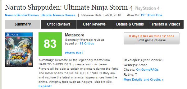 Оценки Unravel и Naruto Shippuden: Ultimate Ninja Storm 4, а также консольного экза PS4 Firewatch!. - Изображение 4
