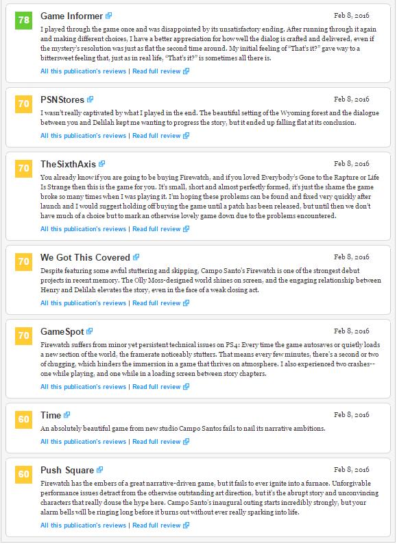 Оценки Unravel и Naruto Shippuden: Ultimate Ninja Storm 4, а также консольного экза PS4 Firewatch!. - Изображение 9