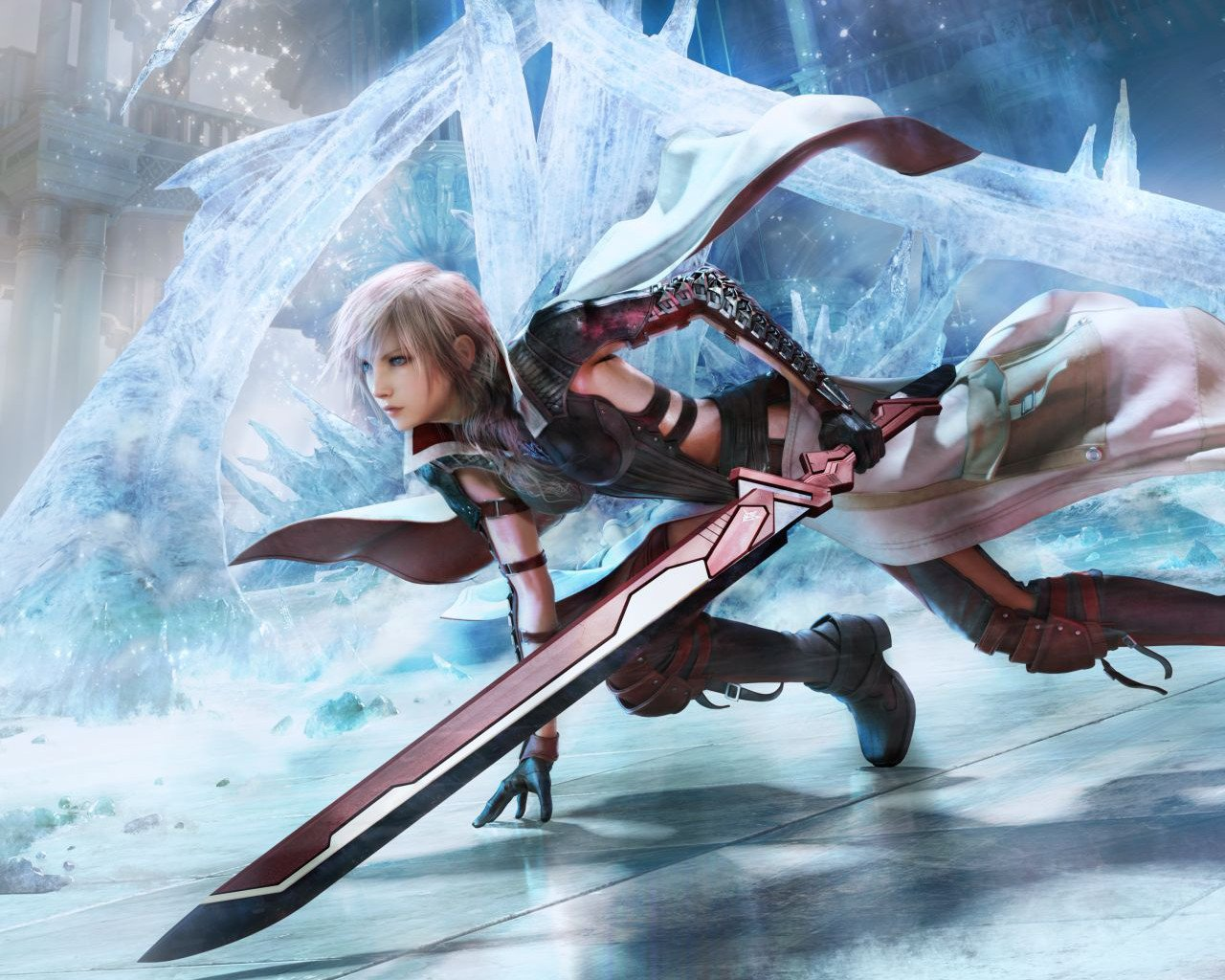 Отличный косплей на Лайт из Lightning Returns: Final Fantasy 13 в исполнении Kilory.      А так же Лайтнин версии  .... - Изображение 1
