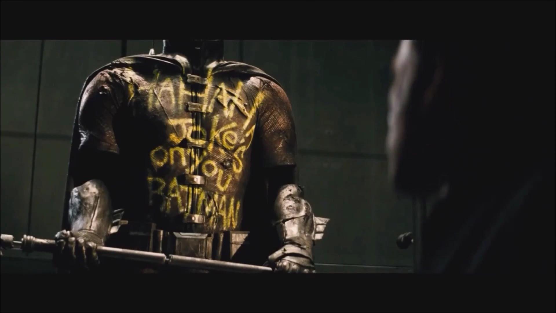 СПОЙЛЕРЫ! Кратко о Бэтфлеке против Человека в трико. - Изображение 3