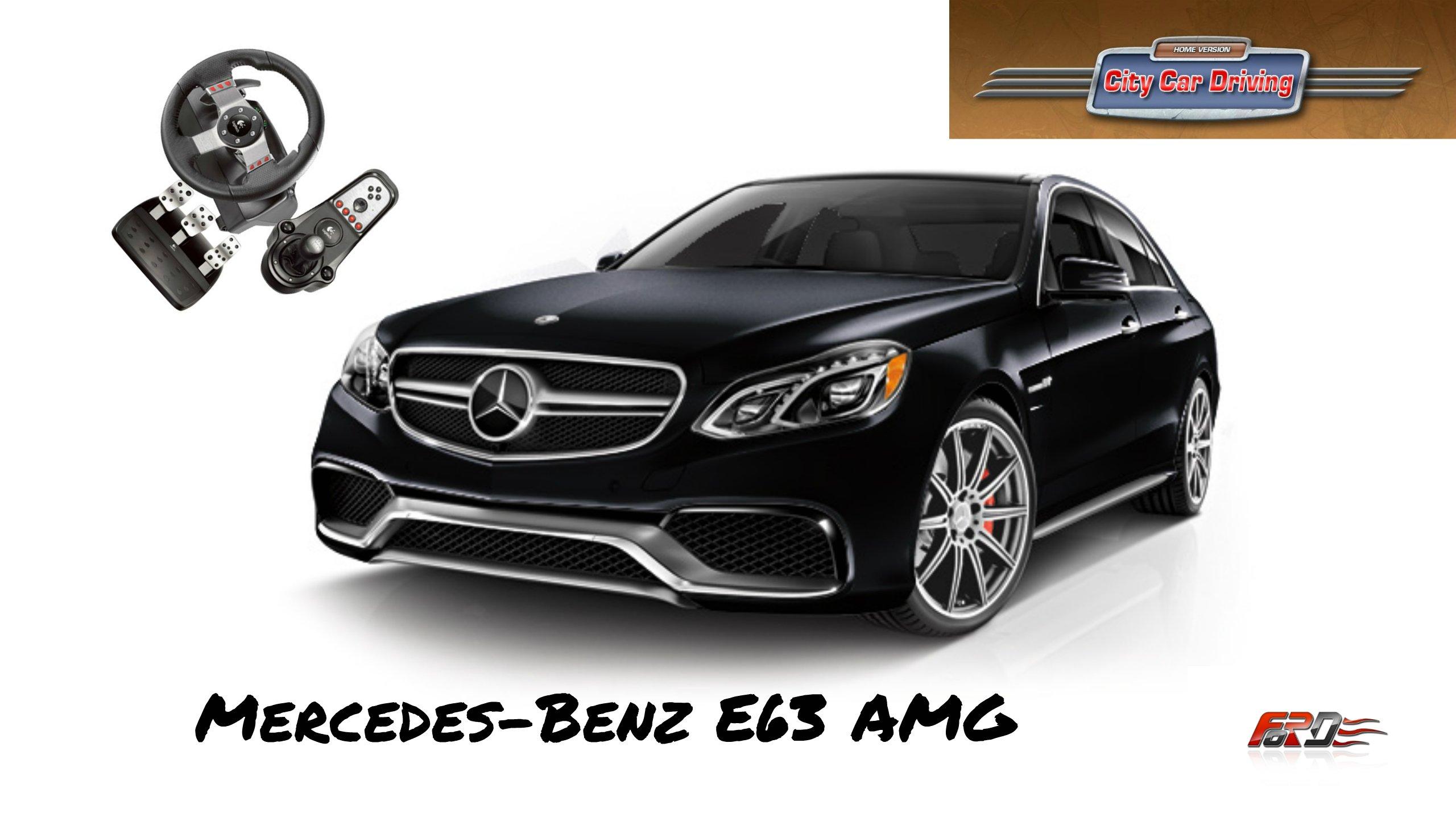 Mercedes-Benz E 63 AMG W212 - тест-драйв, обзор, полицейский с Рублевки в City Car Driving. - Изображение 1