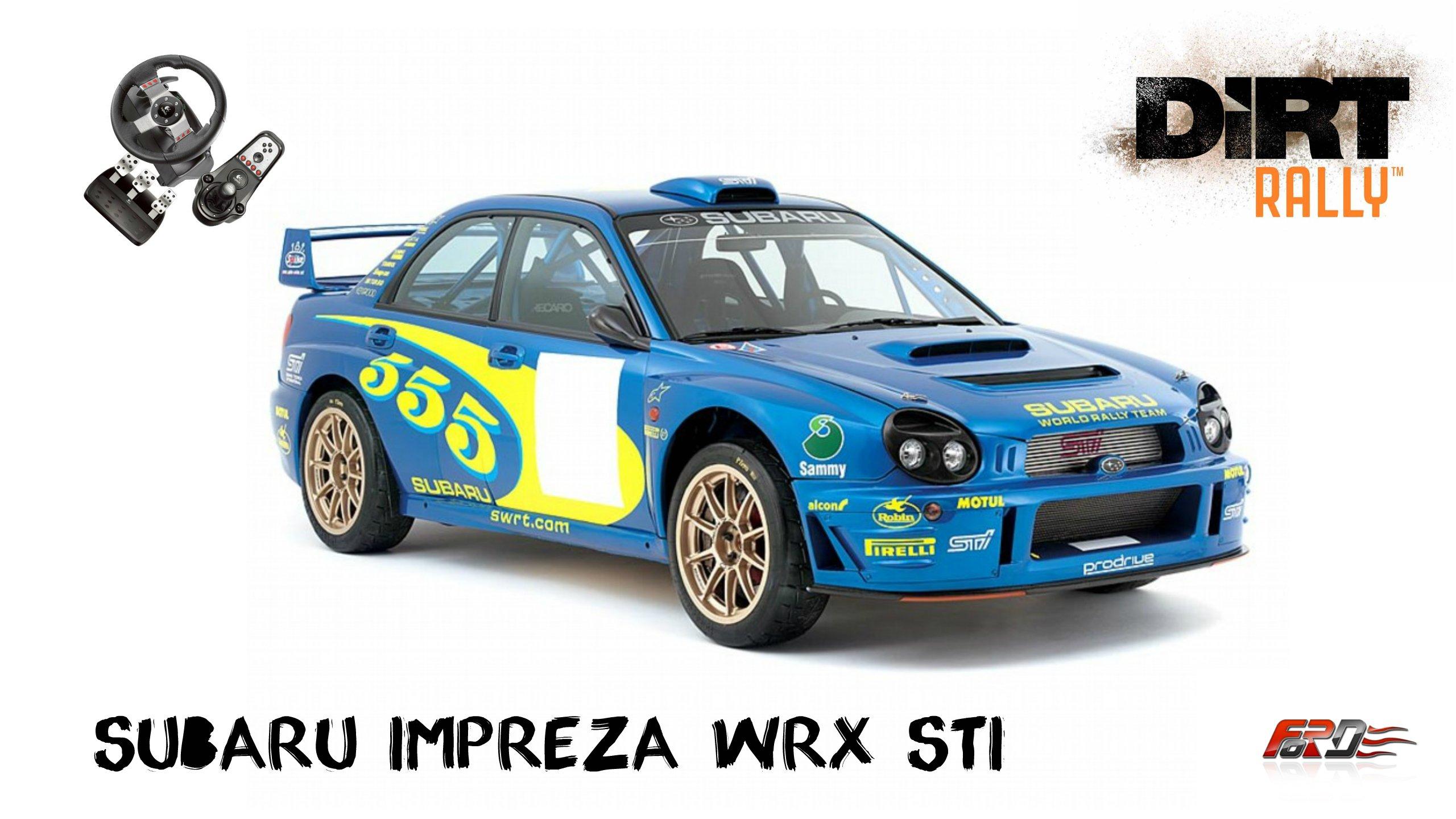 [DiRT Rally] Subaru Impreza WRX STI - тест-драйв, обзор, дождливая Великобритания, снежная Швеция. - Изображение 1