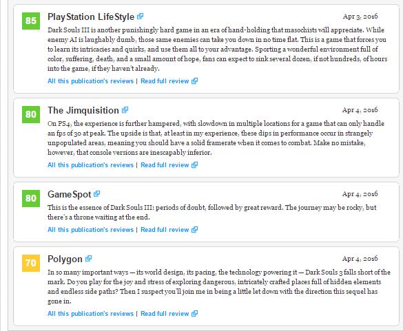 Первые оценки Dark Souls III ! . - Изображение 4