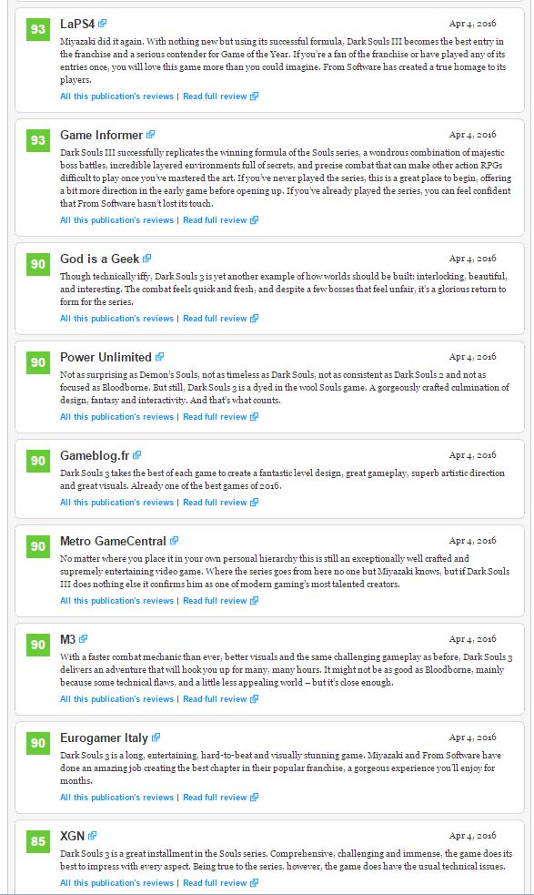 Первые оценки Dark Souls III ! . - Изображение 3