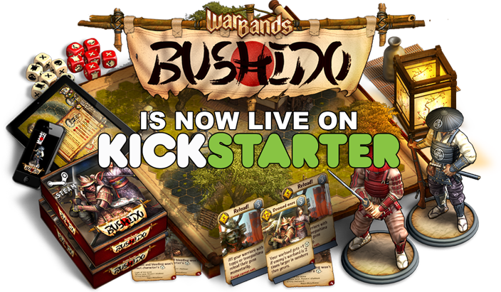 Warbands: Bushido на кикстартере!. - Изображение 1