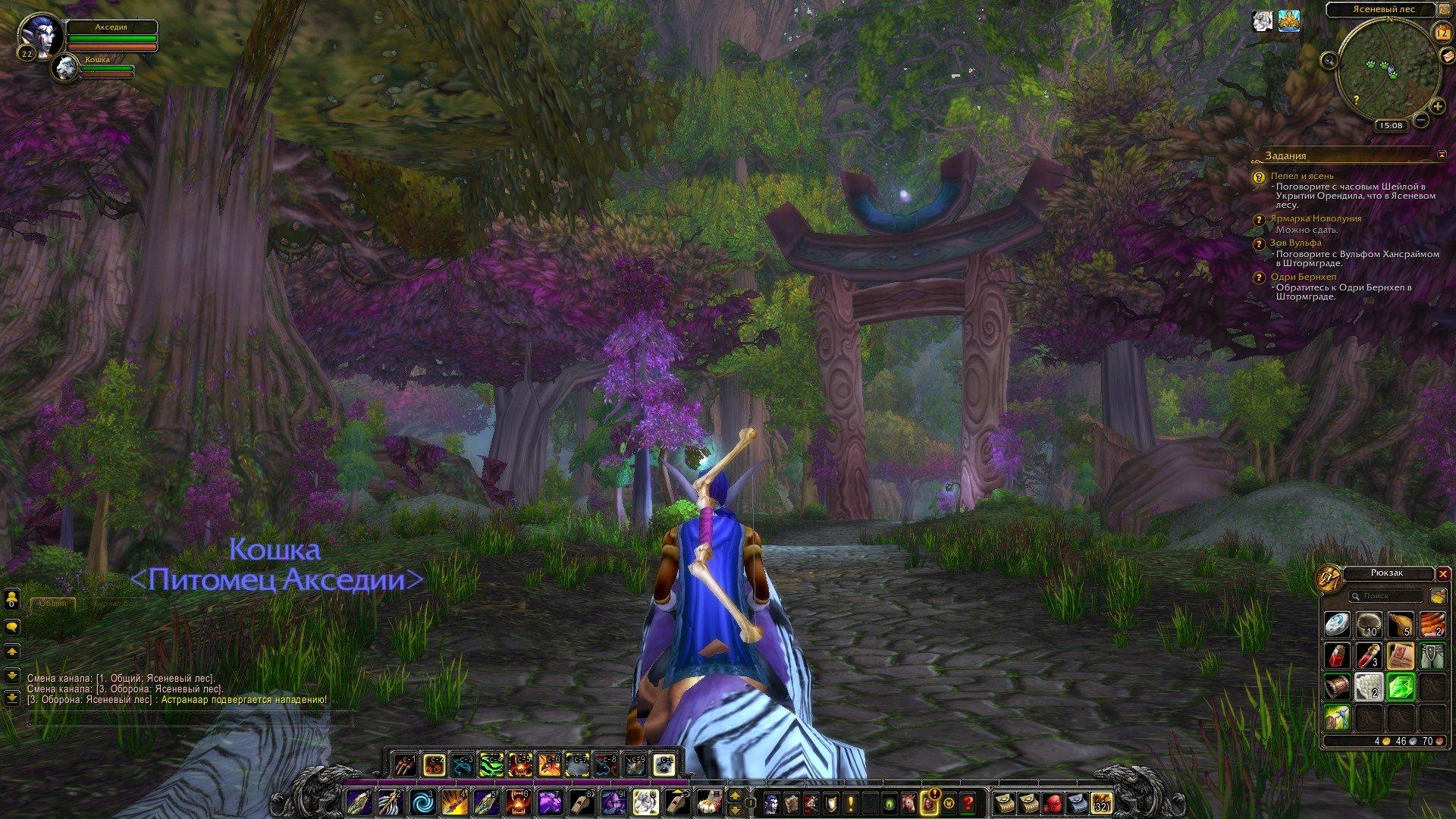 Путешествие по World of Warcraft ... Ночной Эльф. Глава 2. - Изображение 29