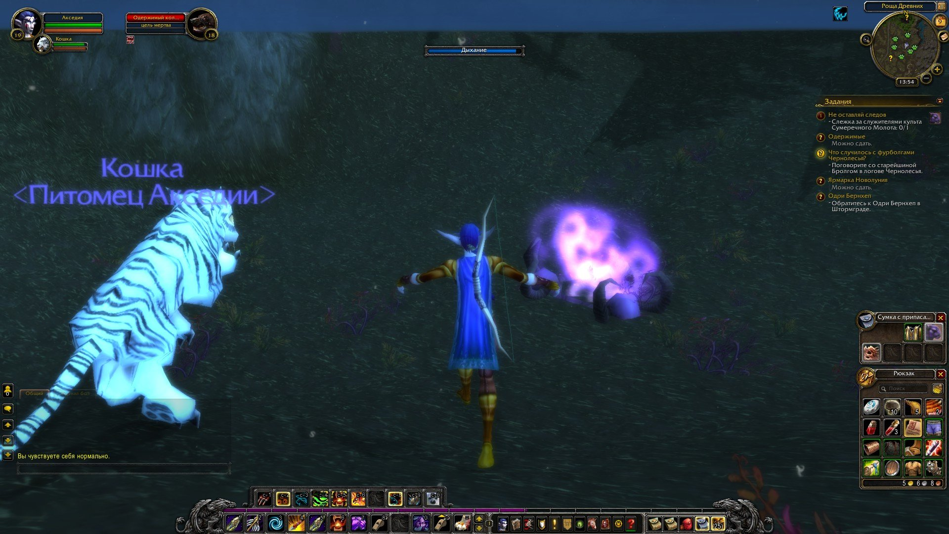 Путешествие по World of Warcraft ... Ночной Эльф. Глава 2. - Изображение 21