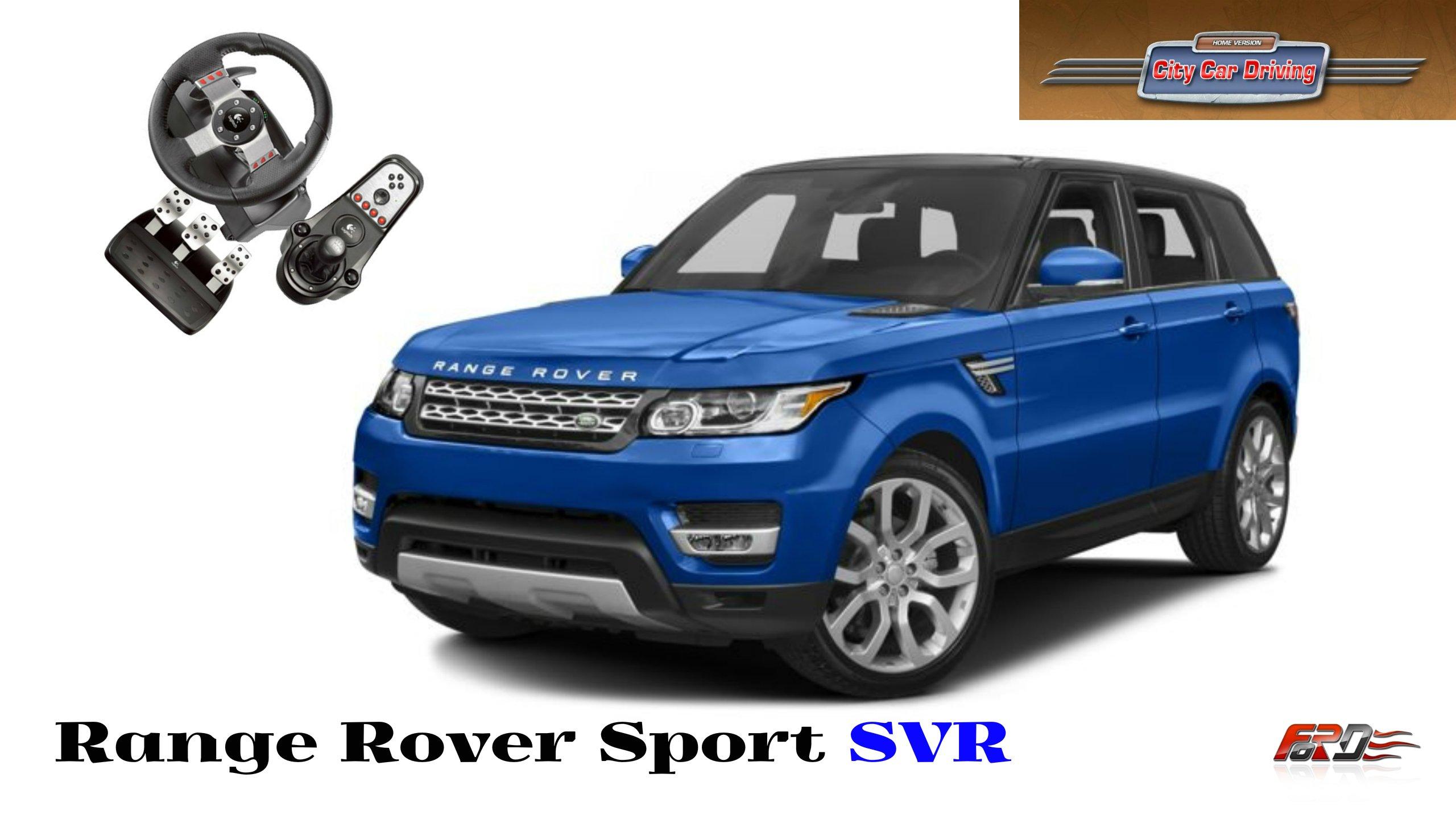 Range Rover Sport SVR - тест-драйв, обзор, off-road, АКАДЕМИК в шоке, Pontorezka в City Car Driving. - Изображение 1