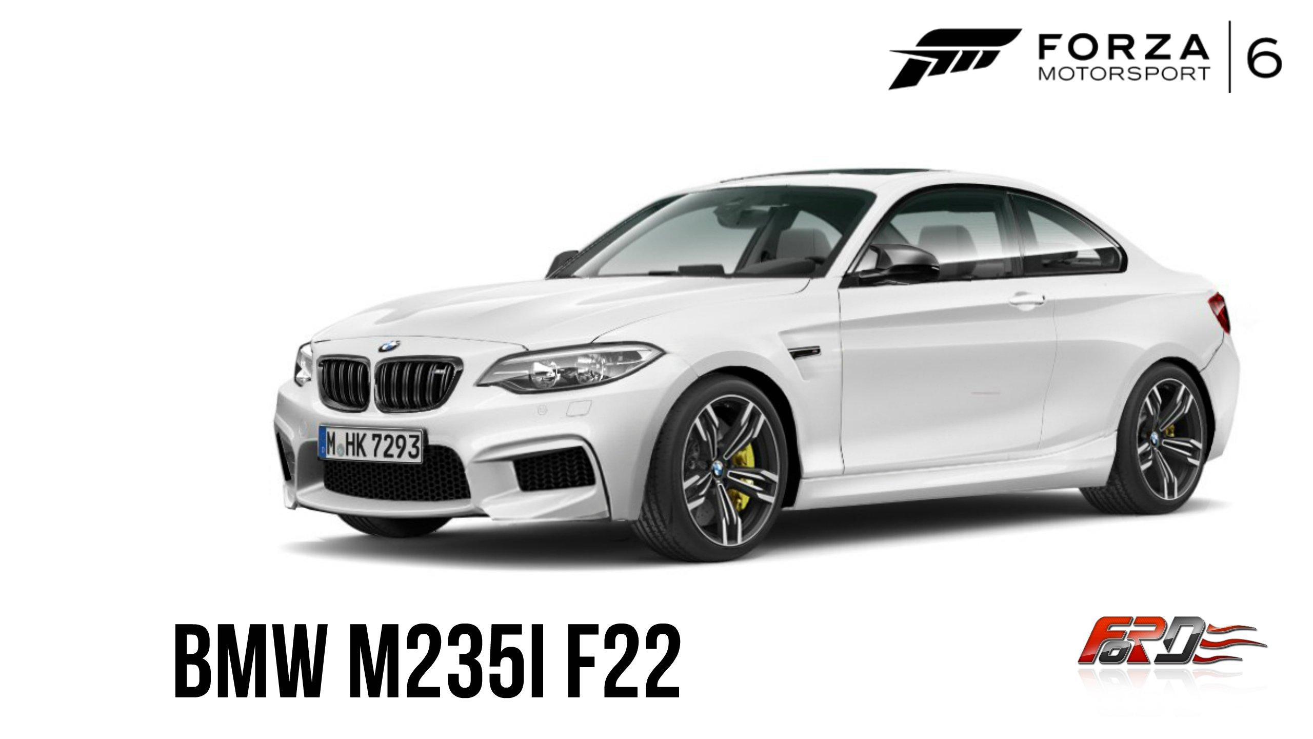 Forza Motorsport 6: Apex [ BMW M235i F22 ] - обзор, тест-драйв, дрифт на маленьком спорткаре. - Изображение 1
