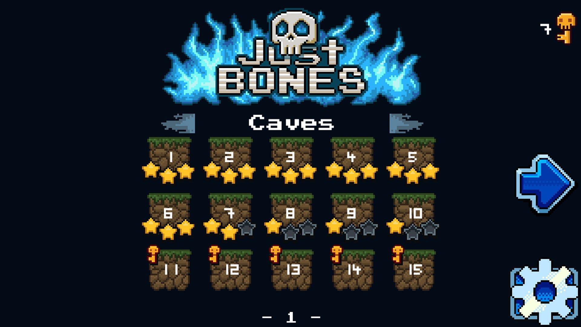 Собирая кости: в Steam вышел интересный харкдор-плафтормер Just Bones . - Изображение 5