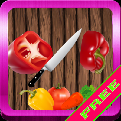 Vegetables and knife. - Изображение 1