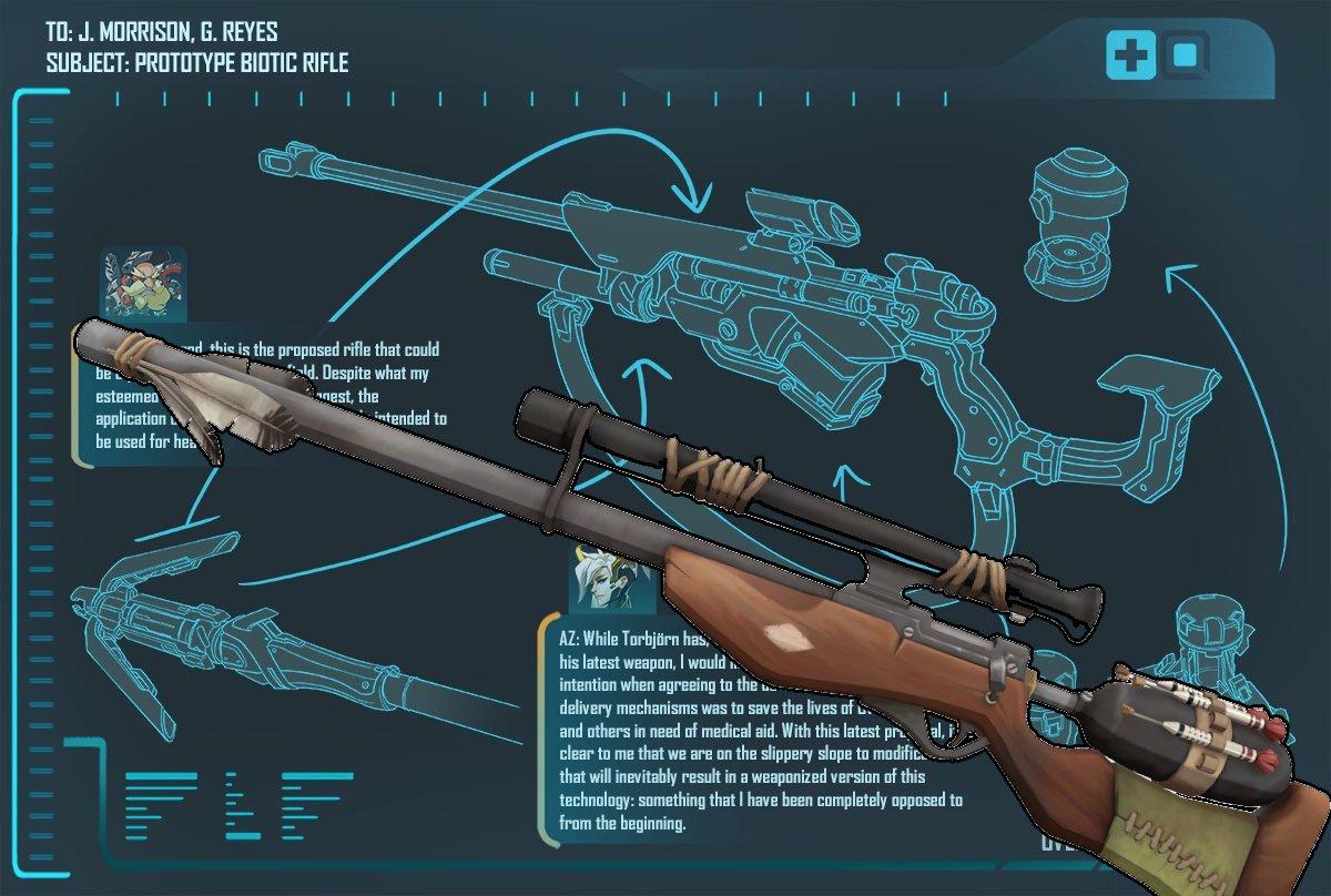 Ана Амари - новый герой #Overwatch. - Изображение 2